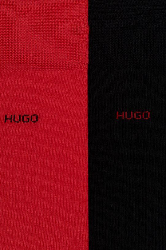 Hugo - Ponožky (2-pak) červená