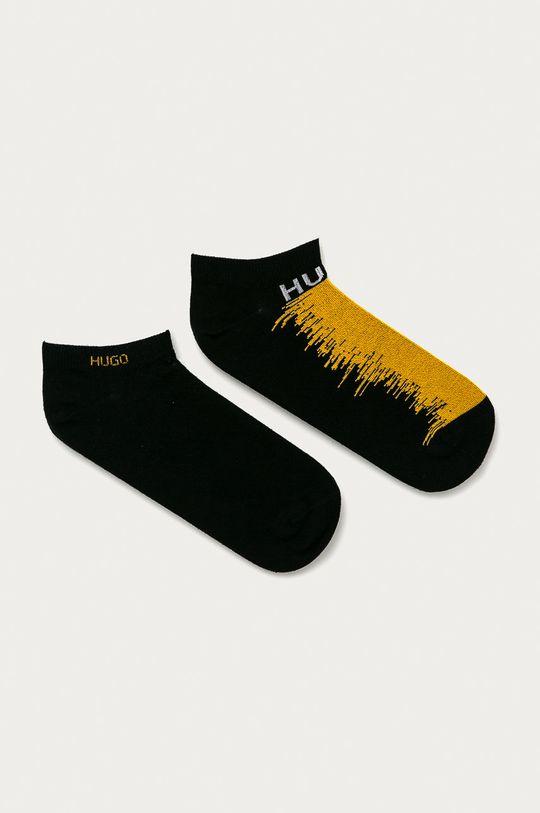 čierna Hugo - Ponožky (2-pak) Pánsky