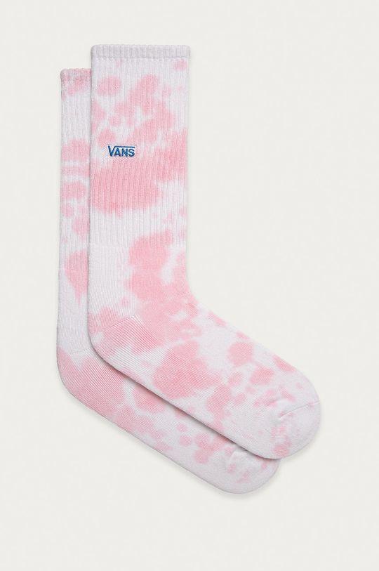 pastelowy różowy Vans - Skarpetki Męski