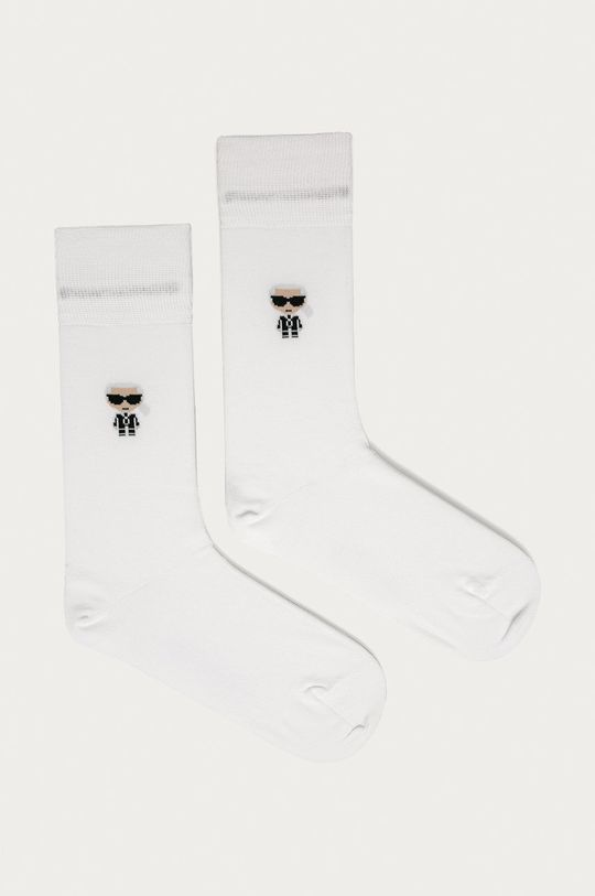biela Karl Lagerfeld - Ponožky Pánsky