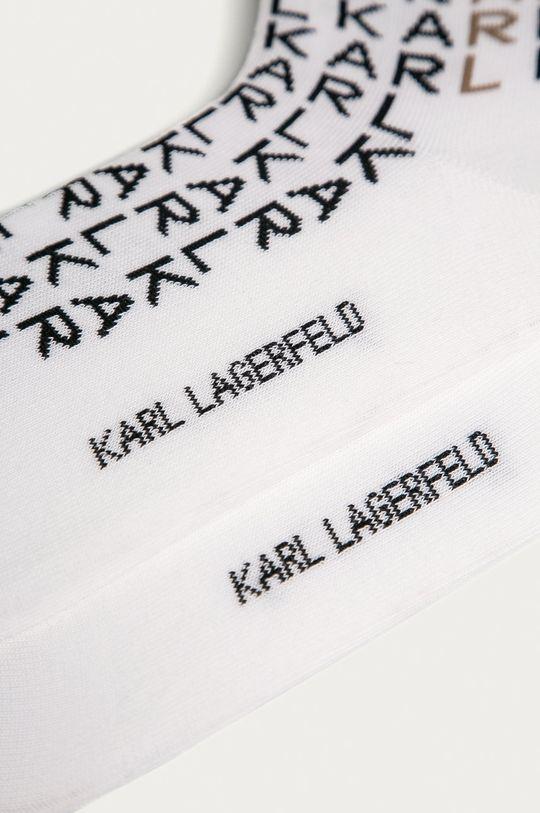 Karl Lagerfeld - Ponožky biela