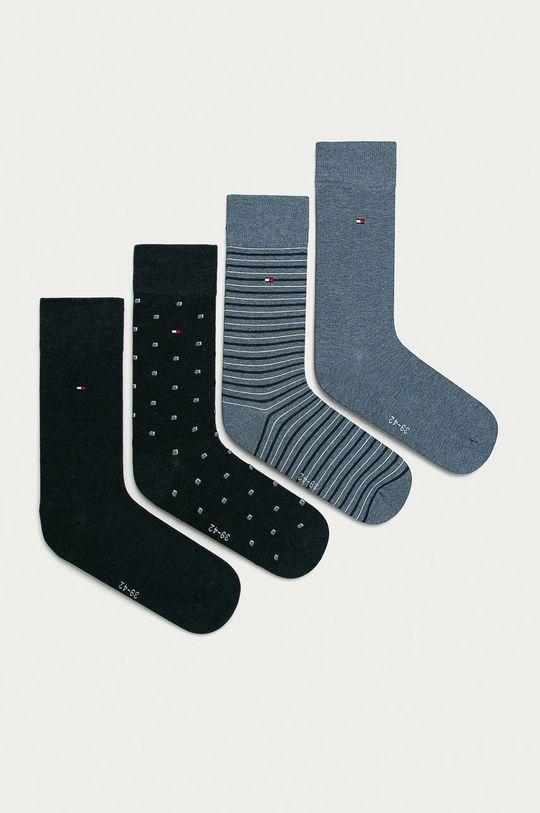modrá Tommy Hilfiger - Ponožky (4-pack) Pánský
