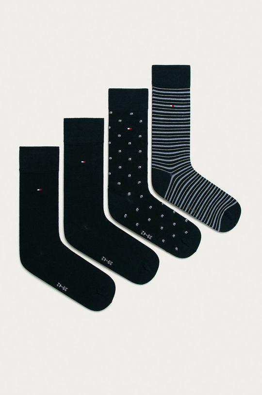 námořnická modř Tommy Hilfiger - Ponožky (4-pack) Pánský