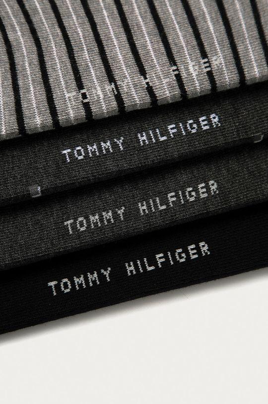 Tommy Hilfiger - Ponožky (4-pak)  76% Bavlna, 2% Elastan, 22% Nylón