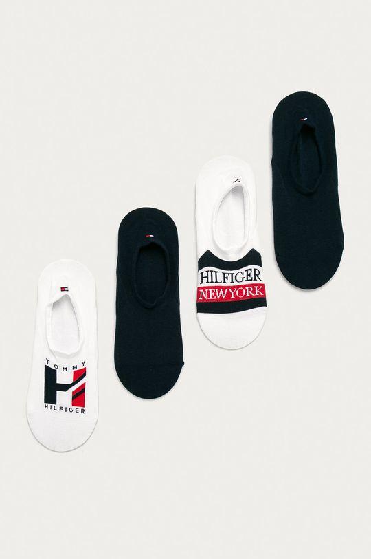 bílá Tommy Hilfiger - Ponožky (4-pack) Pánský