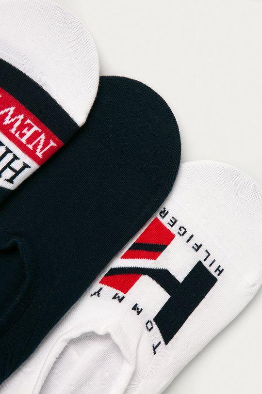 Tommy Hilfiger - Ponožky (4-pack) bílá