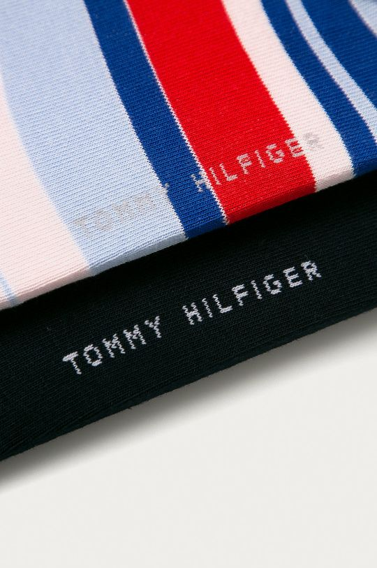 Tommy Hilfiger - Ponožky (2-pack) světle modrá