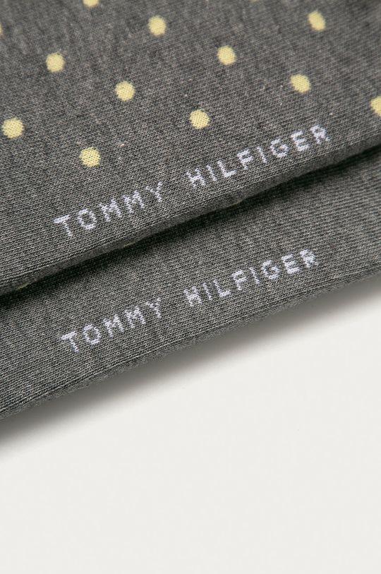 Tommy Hilfiger - Ponožky (2-pak) sivá