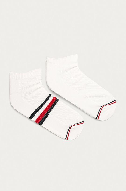 biela Tommy Hilfiger - Ponožky (2-pak) Pánsky