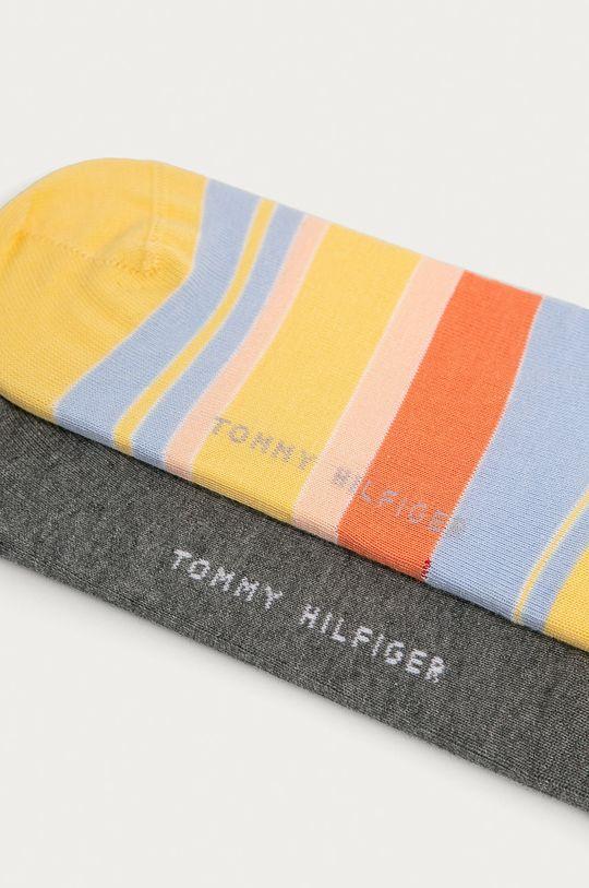 Tommy Hilfiger - Skarpetki (2-pack) żółty
