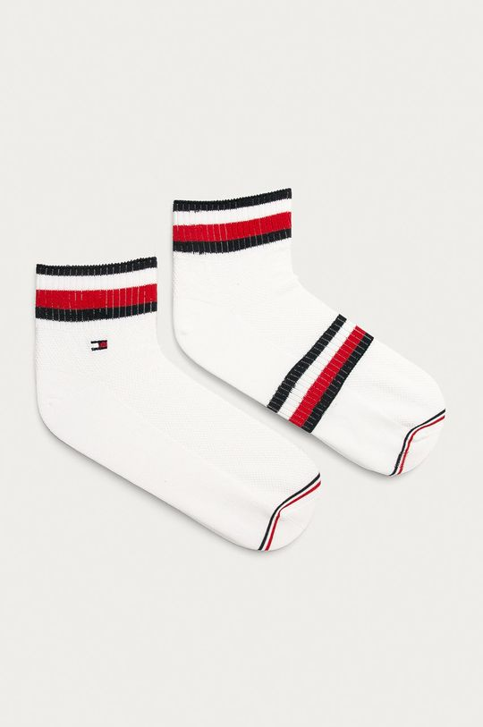 biały Tommy Hilfiger - Skarpetki (2-pack) Męski