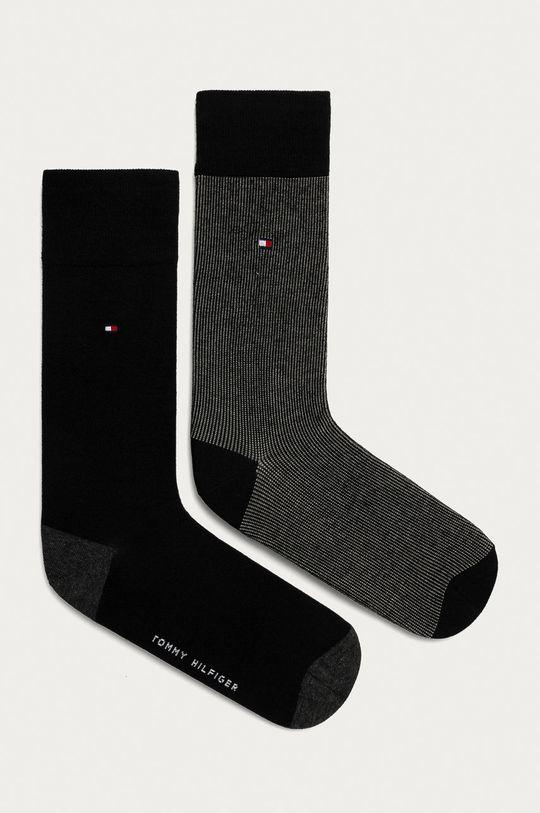 černá Tommy Hilfiger - Ponožky (2-pack) Pánský
