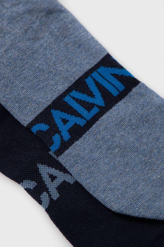 Calvin Klein - Ponožky (2-pack) modrá