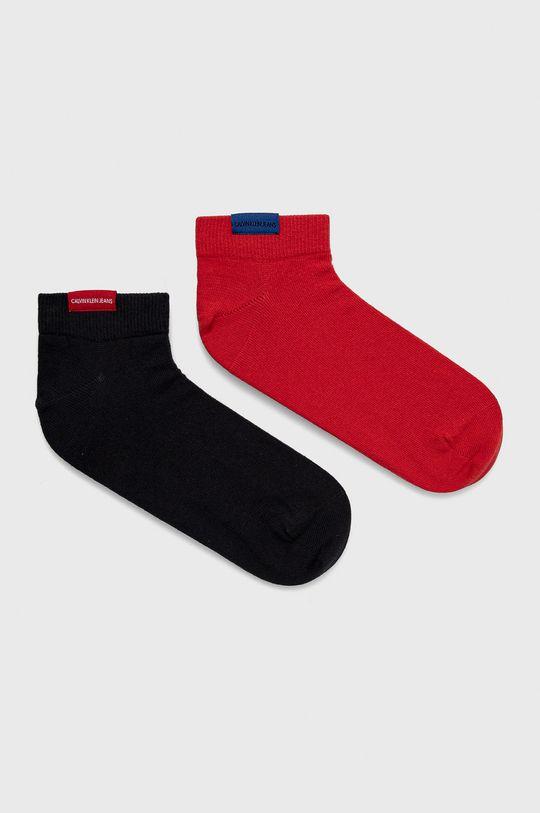 červená Calvin Klein - Ponožky (2-pack) Pánsky