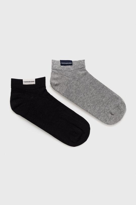 sivá Calvin Klein - Ponožky (2-pack) Pánsky