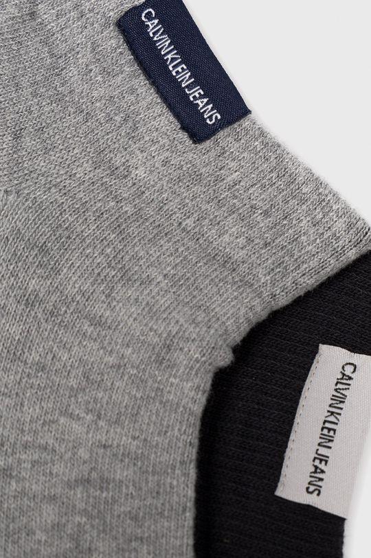 Calvin Klein - Ponožky (2-pack) sivá