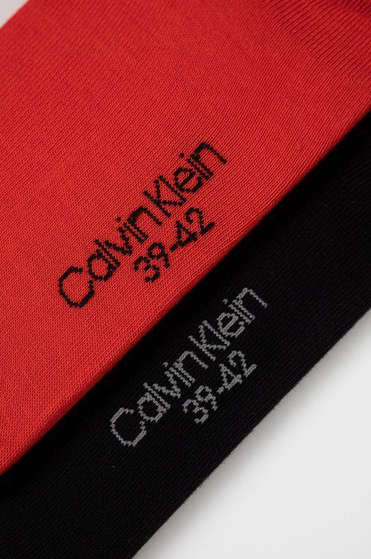 Calvin Klein - Skarpetki (2-pack) czerwony
