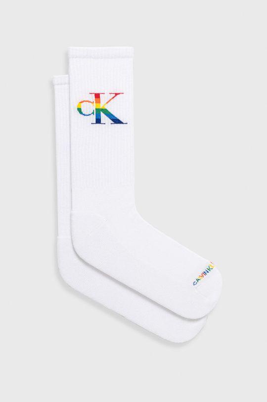 biela Calvin Klein - Ponožky Pánsky