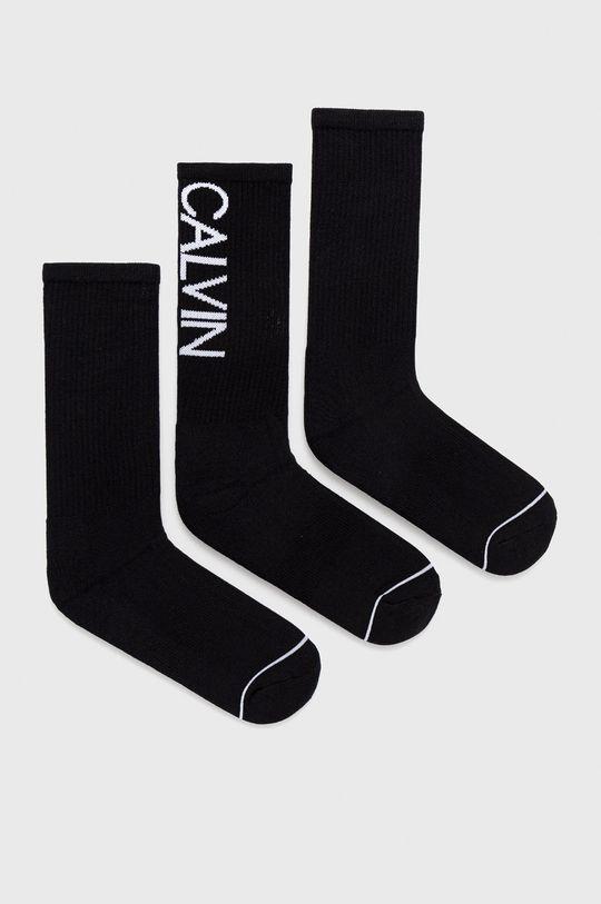 čierna Calvin Klein - Ponožky (3-pack) Pánsky