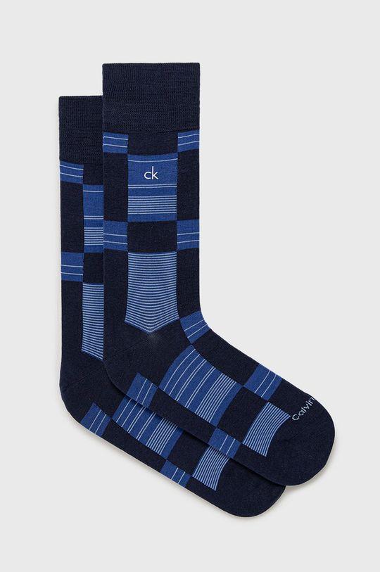 tmavomodrá Calvin Klein - Ponožky Pánsky
