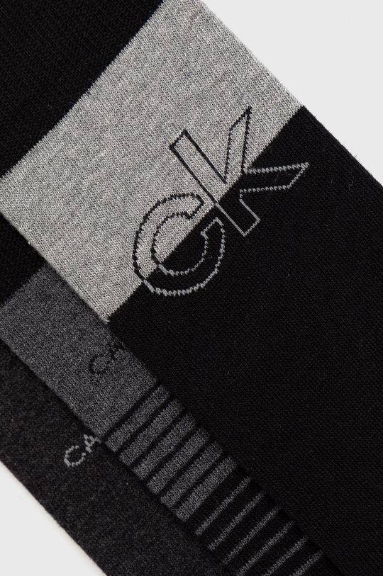 Calvin Klein - Ponožky (3-pack) čierna