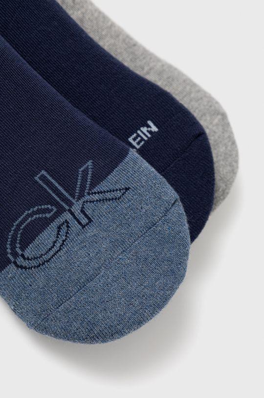 Calvin Klein - Ponožky (3-pack) námořnická modř