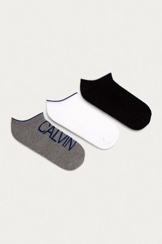 vícebarevná Calvin Klein - Ponožky (3-pack) Pánský