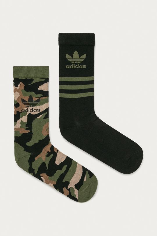 čierna adidas Originals - Ponožky (2-pak) Pánsky