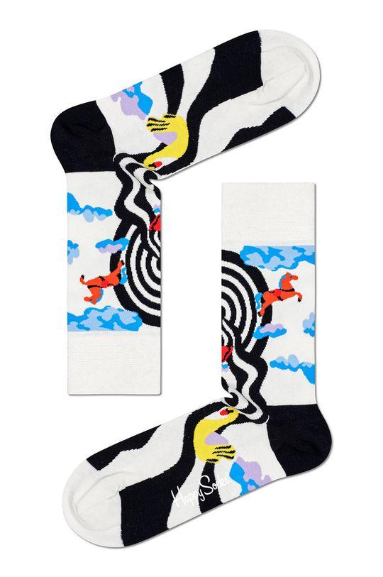 Happy Socks - Skarpety Circus Sock biały