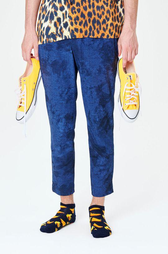 námořnická modř Happy Socks - Ponožky Banana Low Pánský
