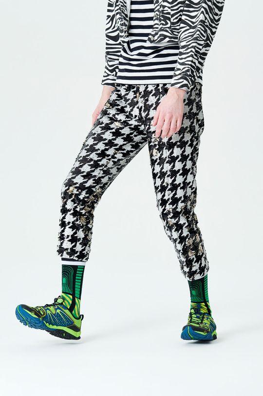 černá Happy Socks - Ponožky Cover Crew Pánský