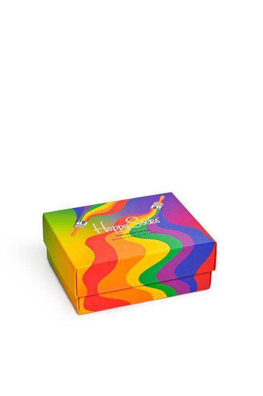 vícebarevná Happy Socks - Ponožky Pride Socks Gift (2-PACK) Pánský
