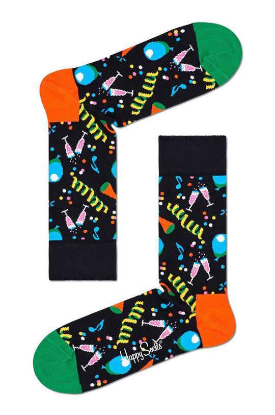 černá Happy Socks - Ponožky Party Party Pánský