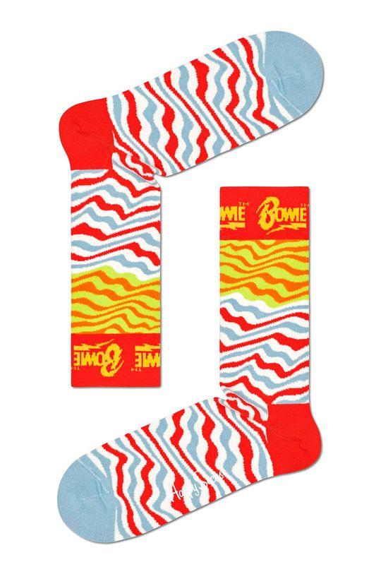 biały Happy Socks - Skarpety Ziggy Stardust Męski