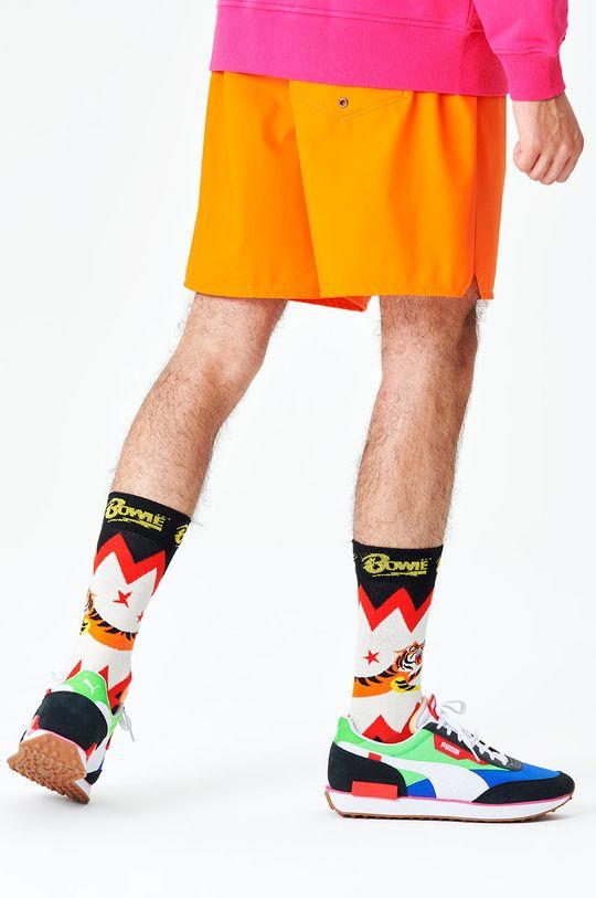 multicolor Happy Socks - Skarpety Electric Tiger Męski