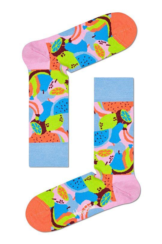 viacfarebná Happy Socks - Ponožky Fruit Salad Pánsky