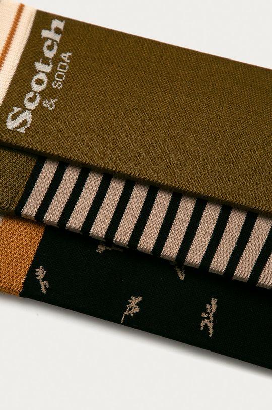 Scotch & Soda - Ponožky (3-pack) vícebarevná