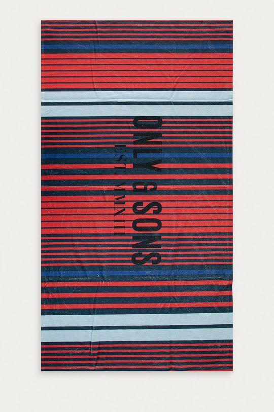 czerwony Only & Sons - Ręcznik Męski