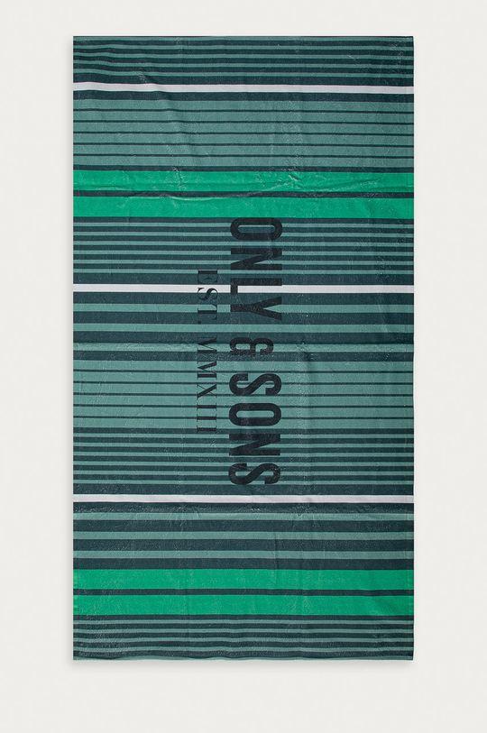ostry zielony Only & Sons - Ręcznik Męski