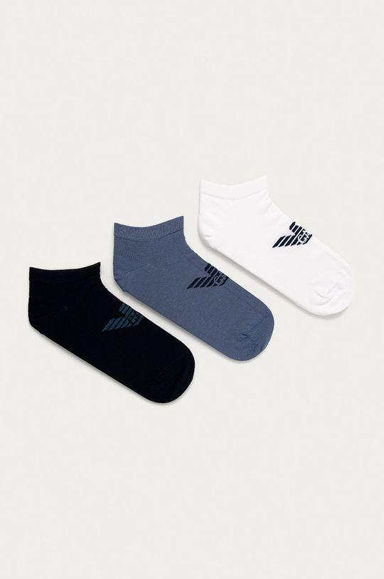 vícebarevná Emporio Armani - Ponožky (3-pack) Pánský