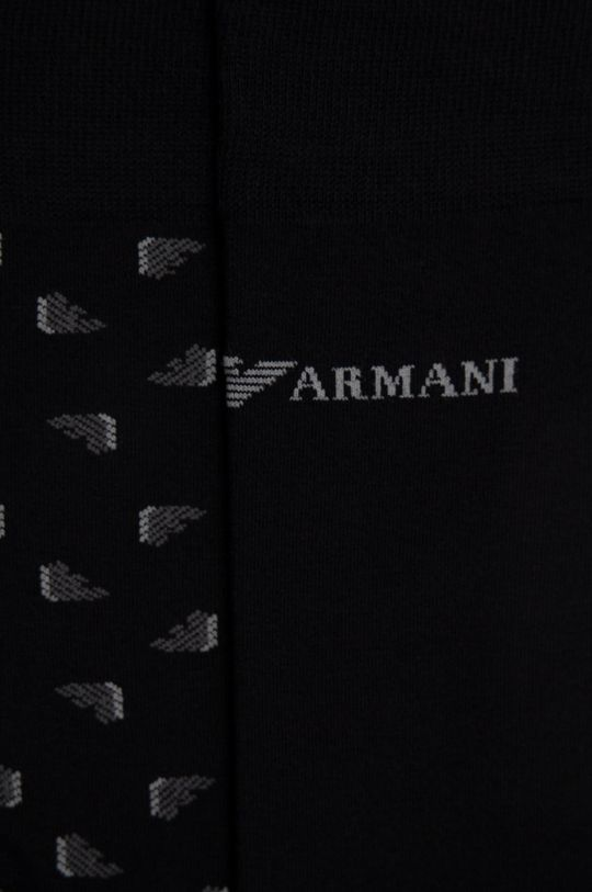 Emporio Armani - Ponožky (2-pak) čierna