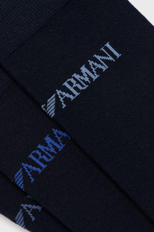 Emporio Armani - Ponožky (3-pack) modrá