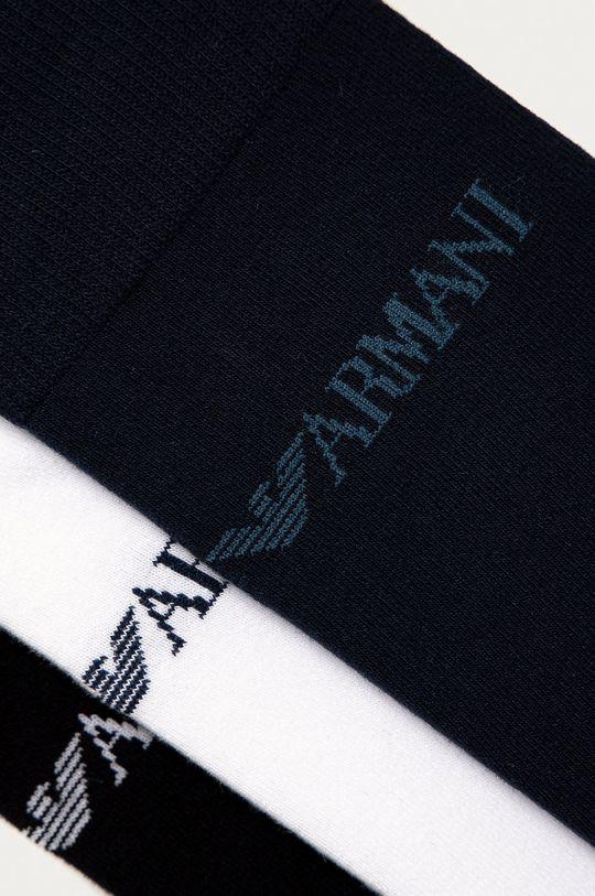 Emporio Armani - Ponožky (3-pak) čierna