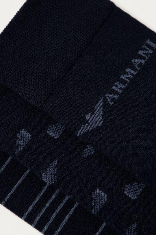 Emporio Armani - Шкарпетки (3-pack) темно-синій