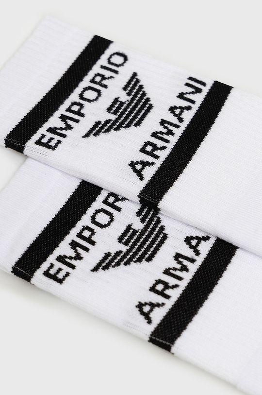 Emporio Armani - Skarpetki (2-pack) biały