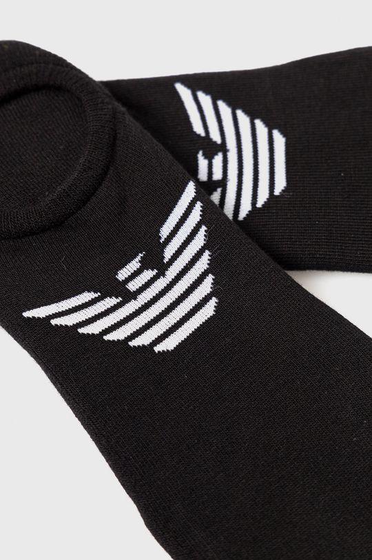 Emporio Armani - Ponožky (2-pack) černá