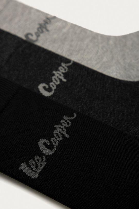 Lee Cooper - Ponožky (3-pak) sivá