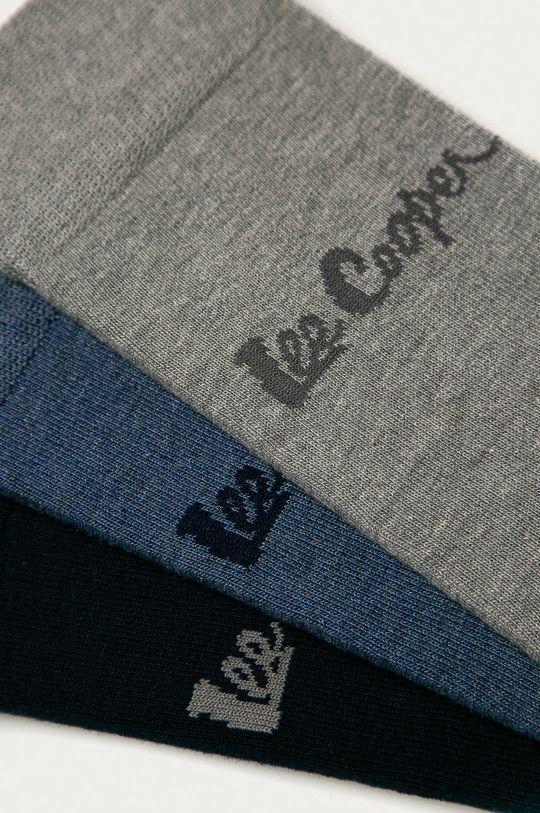 Lee Cooper - Ponožky (3-pak) tmavomodrá