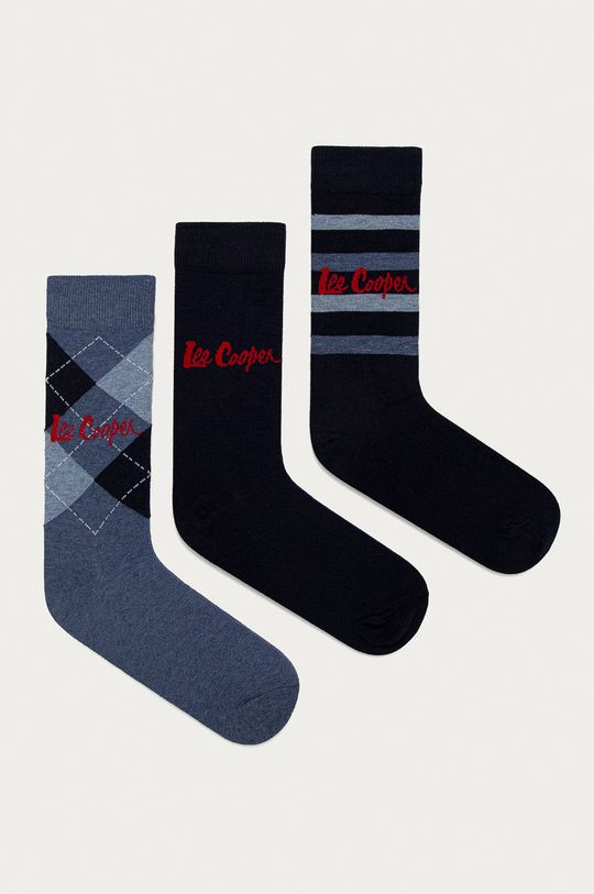 čierna Lee Cooper - Ponožky (3-pak) Pánsky