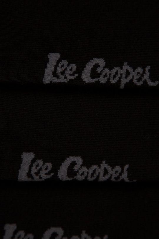 Lee Cooper - Ponožky (3-pak) čierna